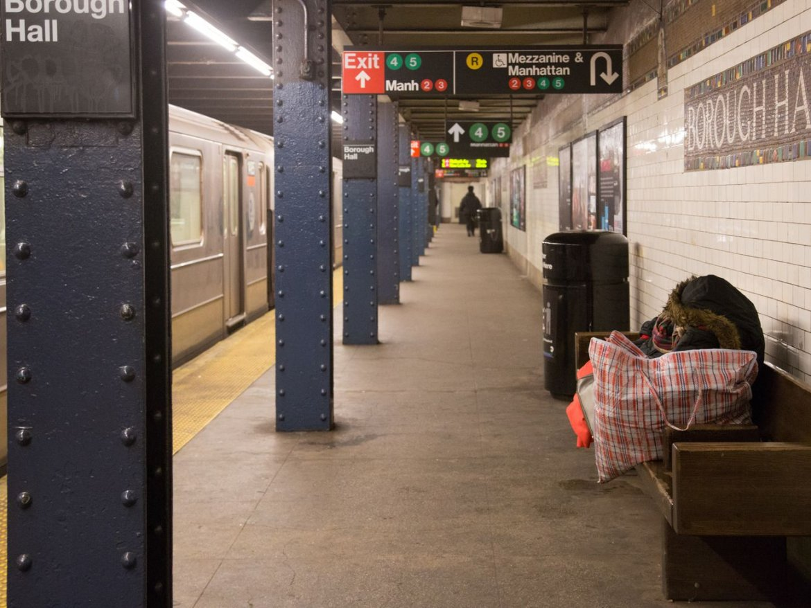 NYC will double down on outreach efforts for homeless individuals on the subway