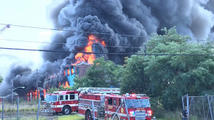 Fire Tears Through Halfway House in Paterson, New Jersey
