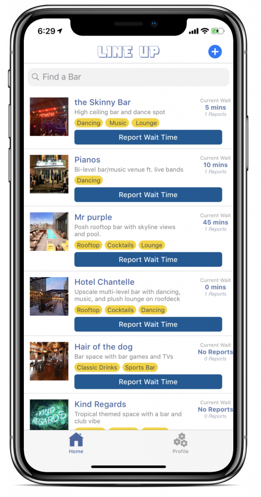 Outsmart The Crowds At Your Favorite Local Bars With This New LineUp App