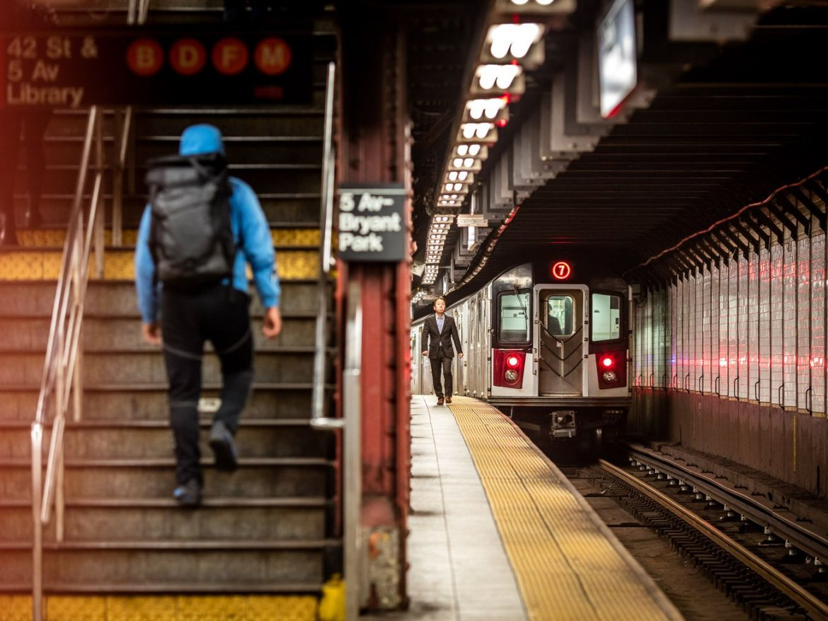 As NYC subway performance improves, ridership is increasing