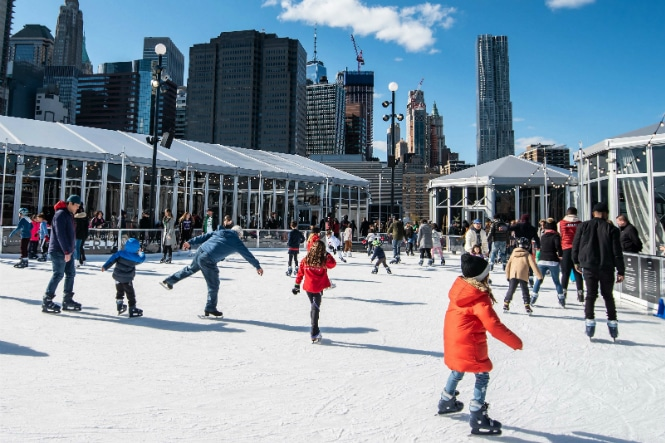 Pier 17 Will Open Their Rooftop Ice Rink And Winter Village Next Month