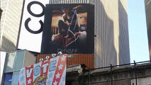 Times Square Billboard Ad Shows President Trump Hogtied
