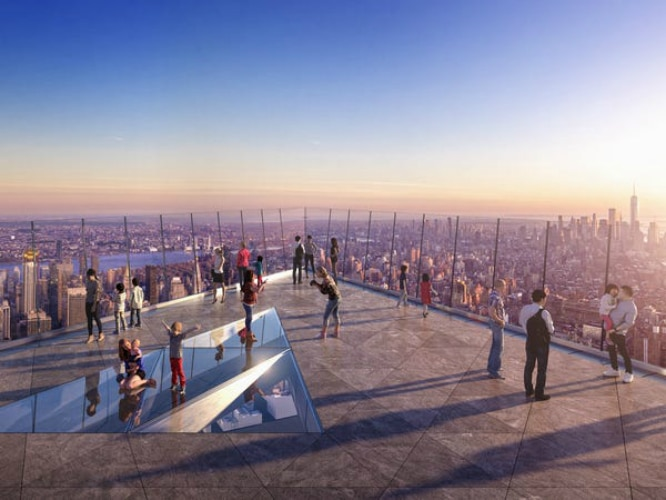 The Highest Observation Deck In The Western Hemisphere Will Soon Open In NYC