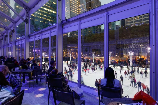 Bryant Park's Winter Village Will Open Soon For The Season
