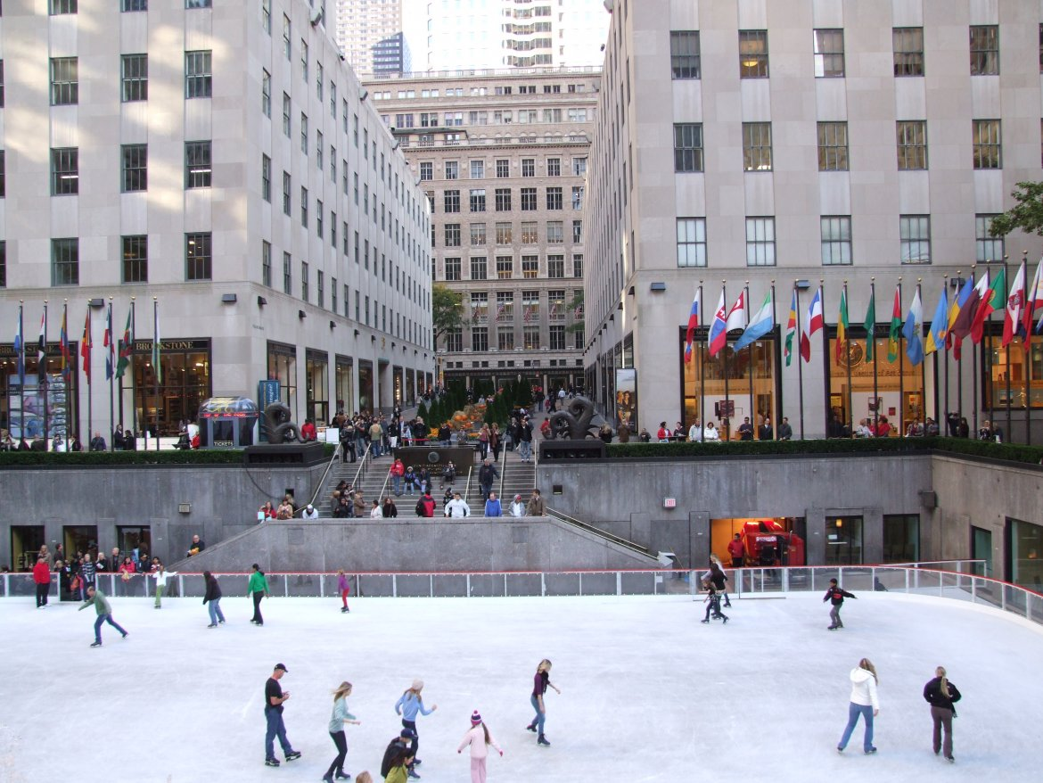 The Ice Rink At Rockefeller Center Opens Next Weekend