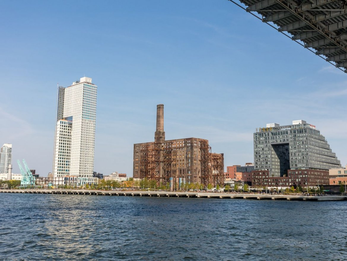 Tracking the redevelopment of Brooklyn's Domino Sugar Factory