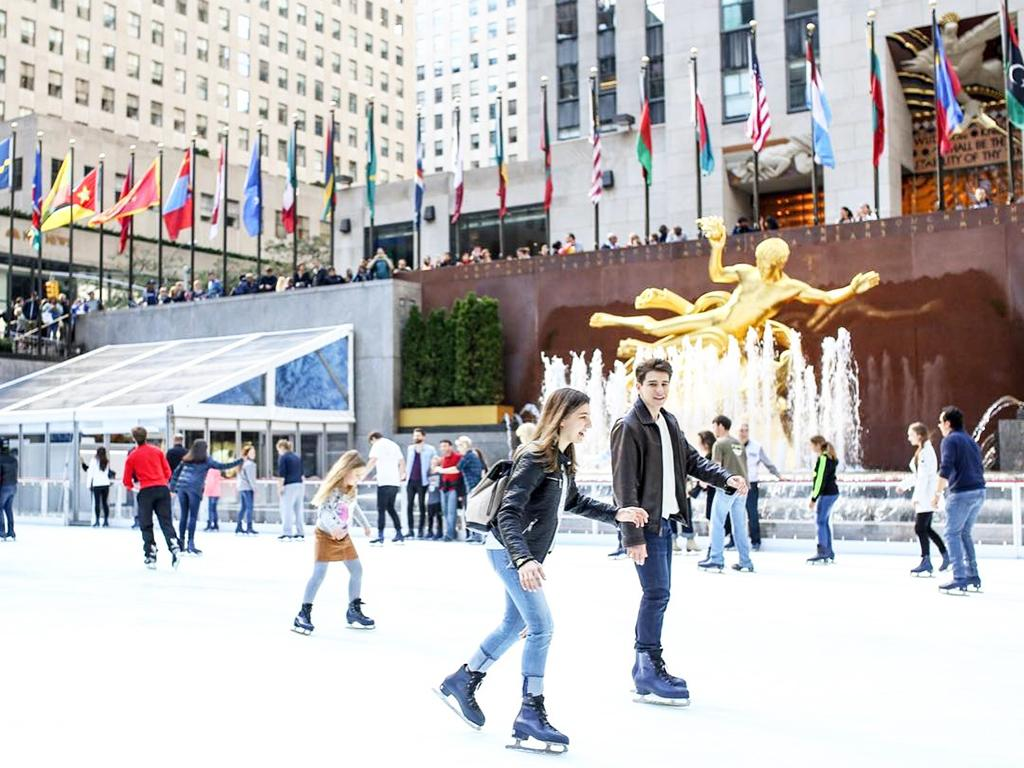 Top 10 Ice Skating Rinks Around NYC
