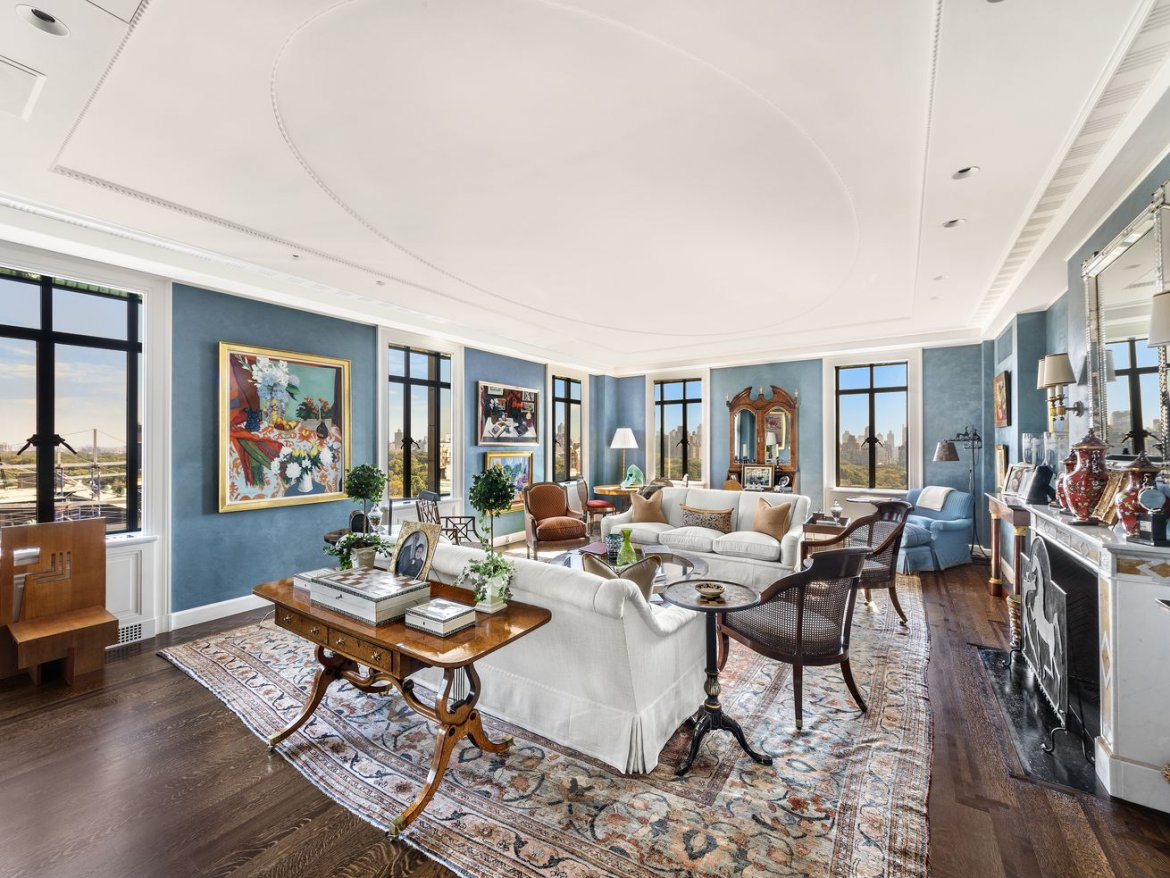 In the fabled San Remo, a co-op with Central Park views wants $25M