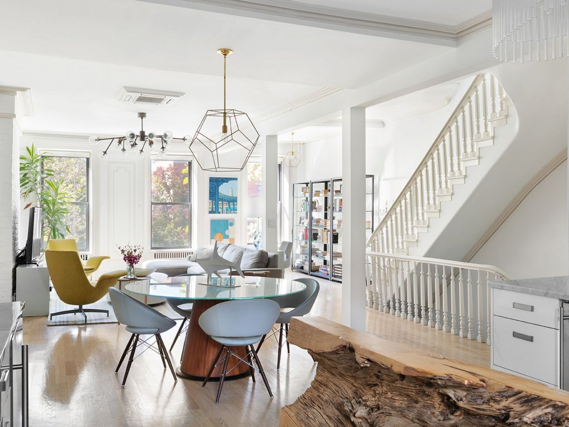 Refined Boerum Hill townhouse with landscaped garden asks $5M
