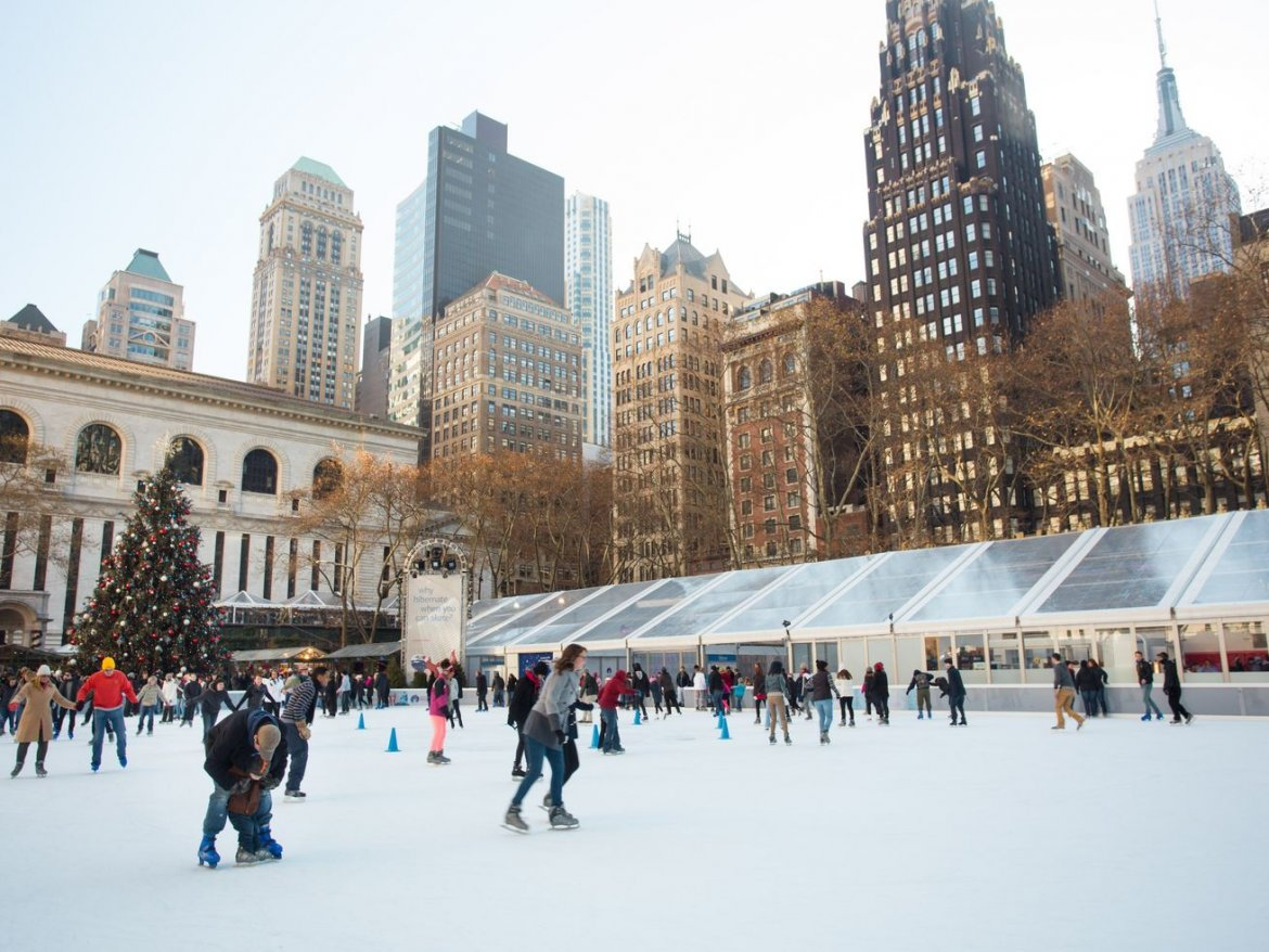 The best ice skating rinks in New York City
