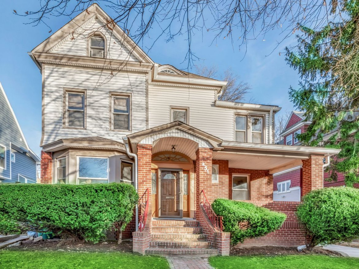 For $2.1M, a detached Ditmas Park charmer with a front porch