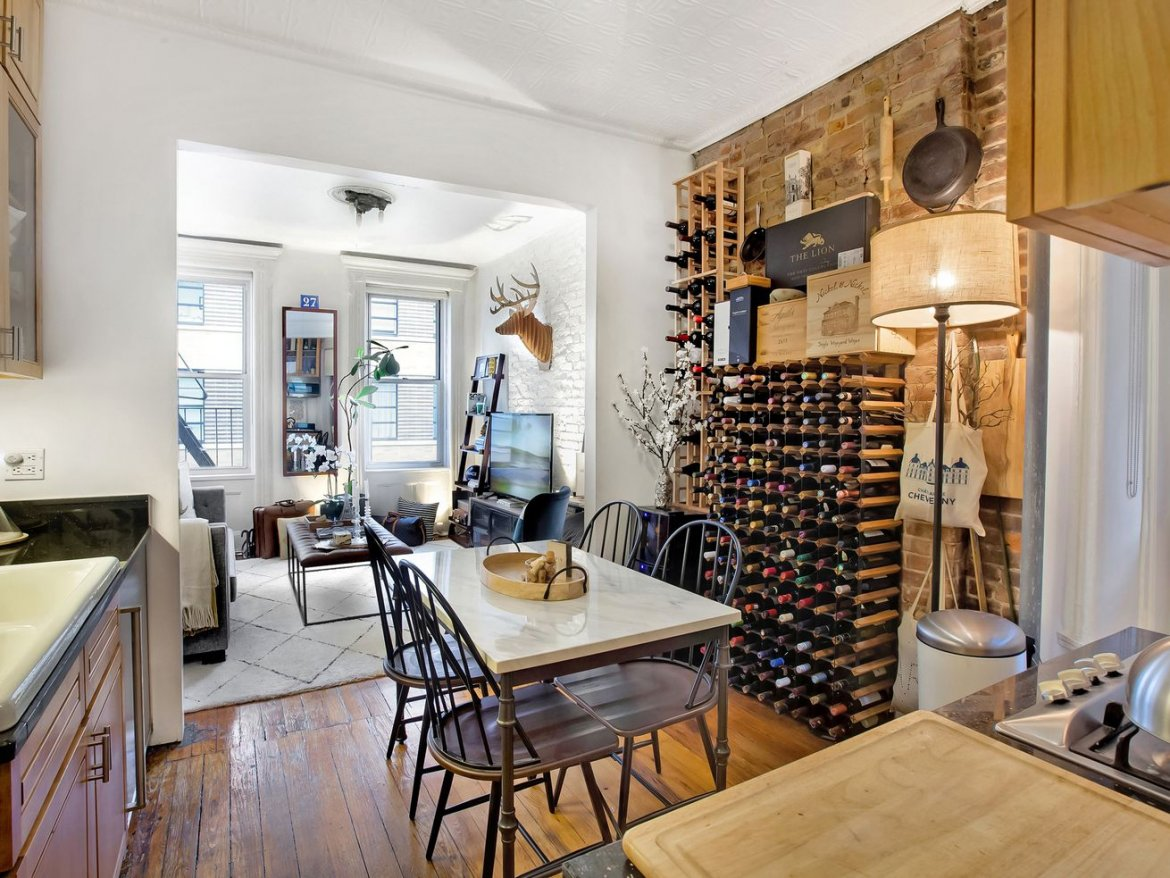 Cozy Soho co-op with vintage charm wants $599K