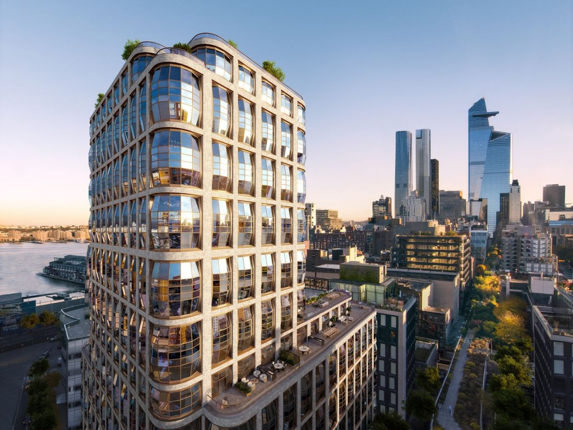 Thomas Heatherwick's quirky High Line condo launches sales