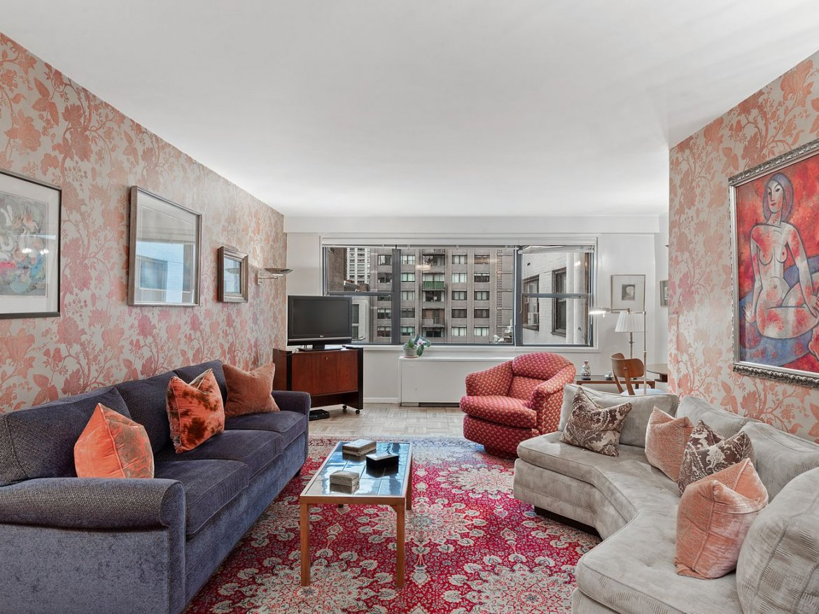 How much for a very pink Upper East Side one-bedroom?