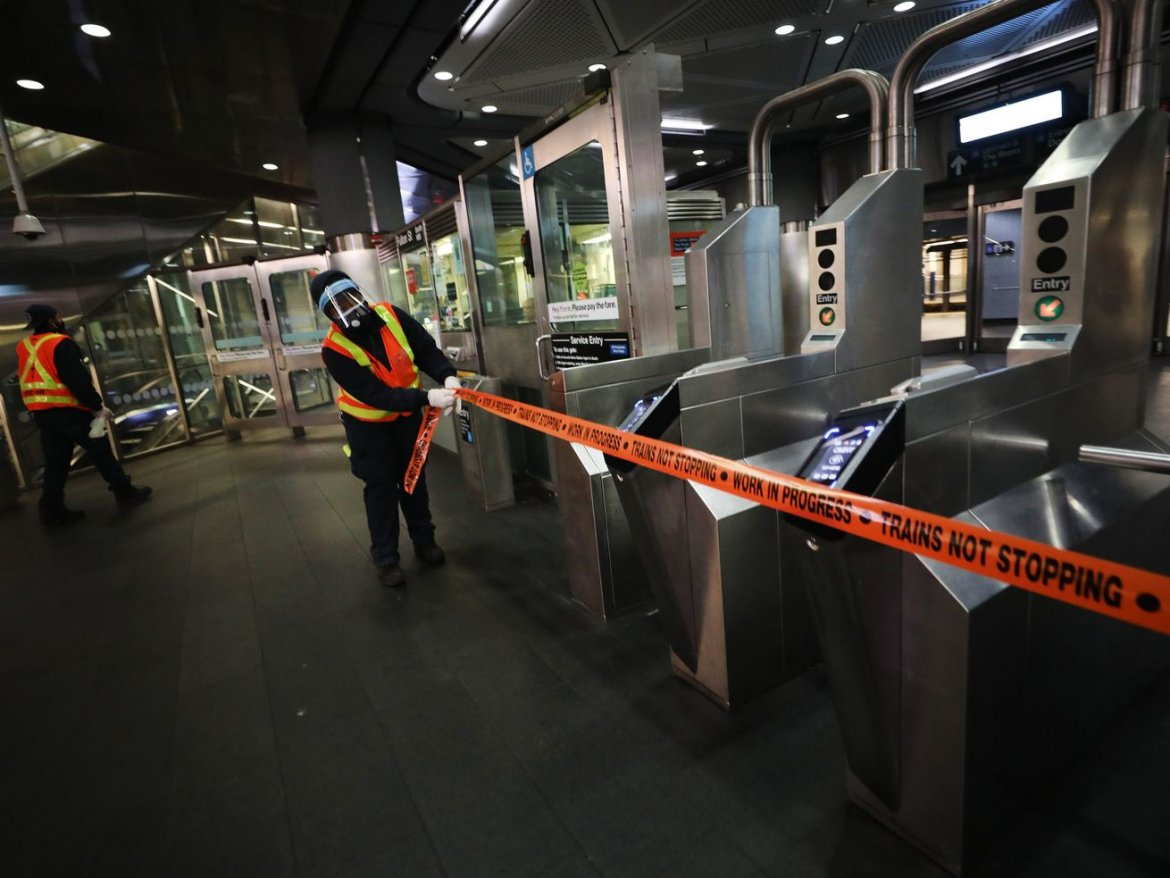 Did New York City just give up on public transit?
