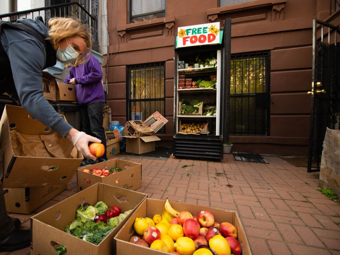 How community fridges are fixing a broken food system