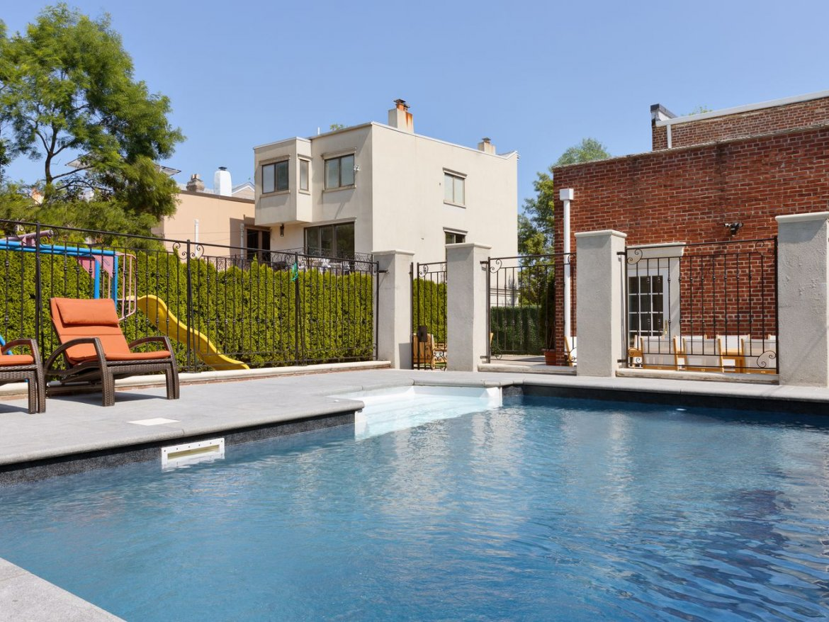 Windsor Terrace Townhouse With Inground Saltwater Pool Wants $4M